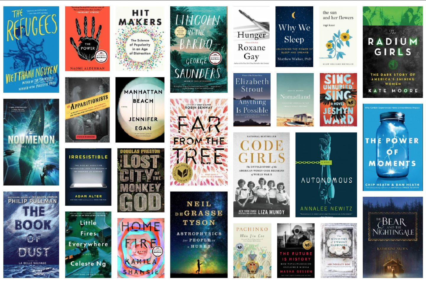 Best Fiction Nonfiction Books Of 2017 Bcan
