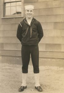 Cecil Severence - WWII Sailor - Toledo, Ohio - 1940s