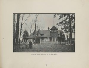 Shelter House Located at Ottawa Park in Toledo, Ohio, 1910s